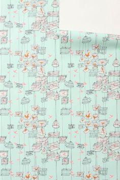 Pretty - Lofty Larks Wallpaper - Anthropologie.com
