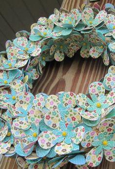love the wreath , Jillibean papers...