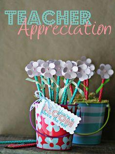 teachers pencil appreciation gift