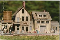 HO Scale Buildings Pre-Built | Bower's Brewery