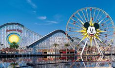 favorit place, paradis pier, los angel, disney parks, disneyland, paradise, ferris wheels, disney california, california adventur