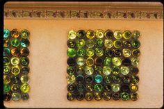 Wine Bottle Bar.... 20 Ideas of How to Recycle Wine Bottles Wisely | http://www.designrulz.com/product-design/2012/08/20-ideas-of-recycle-wine-bottles/