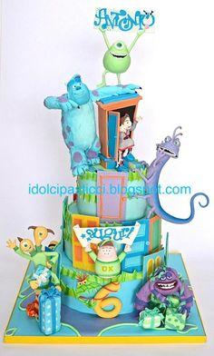 """Cake """"Monster & Co"""" by Daniela Lava"""