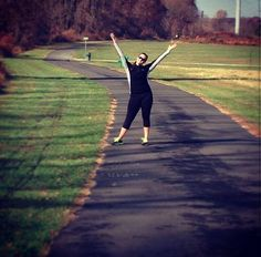 No one rocks #LolaGetts better than Jess on her early morning runs! #Shop her #active look now lolagetts.com