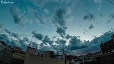 Cloud time lapse ove
