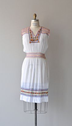 Romani dress vintage 1920s dress embroidered by DearGolden