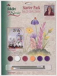 FolkArt ® One Stroke™ Starter Packs - Wildflower  #Plaidonline.com #ChristmasCraftWishList