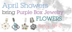 Think Spring with Purple Box Jewelry