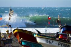 Dane Reynolds, Chile. Photo: Glaser #surfer #surferphotos