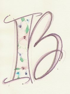 Textured Letter B, via Flickr