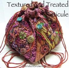 Treated And Textured Reticule with Christen Brown