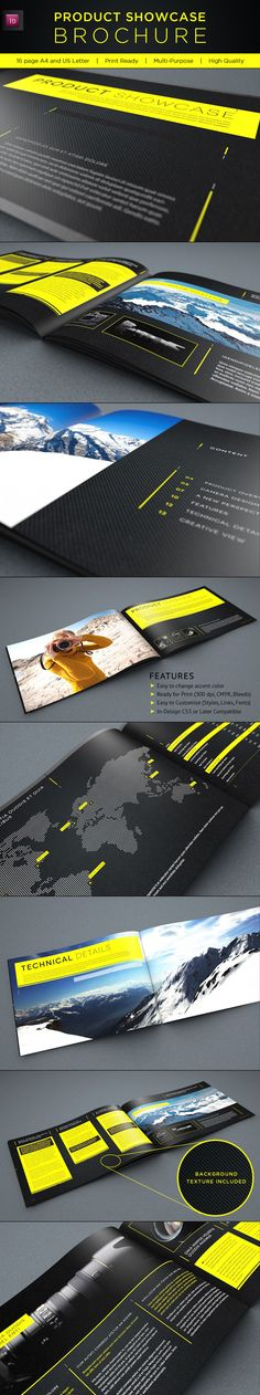 Product Showcase Brochure