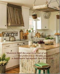 Buckets of Burlap's kitchen to be featured in the new Prairie Style magazine