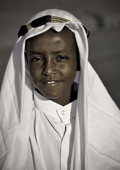 Etiopian boy by Eric Lafforgue
