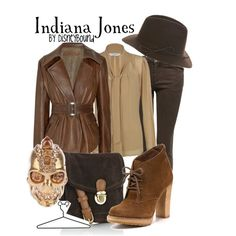 """Indiana Jones"" by lalakay on Polyvore"