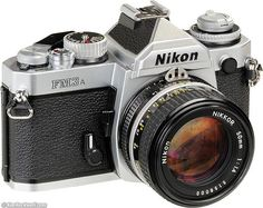 Nikon FM3A - Classic film camera which has been made from 2001-2006. Cool. Also compatible with most F-Mount Nikon Lenses.