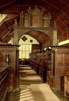 Merton College Library, Oxford, England