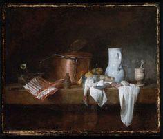 "Jean Siméon Chardin ""The Kitchen Table."" Museum of Fine Arts, Boston."