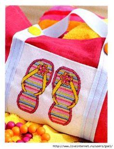 1 Flip Flop beach bag