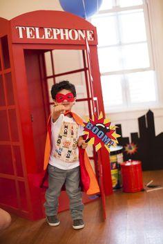 super hero party #Superhero #comic