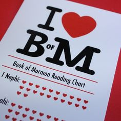 book of mormon printable