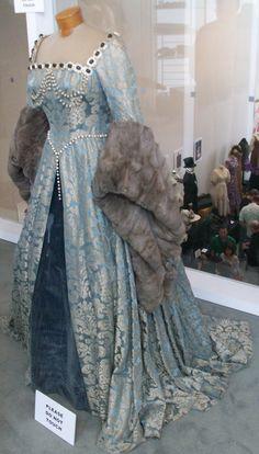 Catherine Parr's Blue Gown
