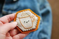 PSL Hexagon Pin by wildolive, via Flickr