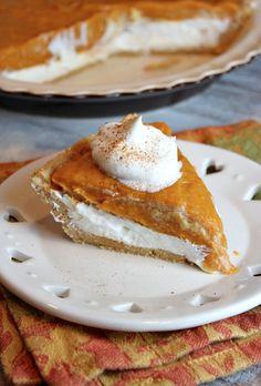 No- Bake Double Layer Pumpkin Pie