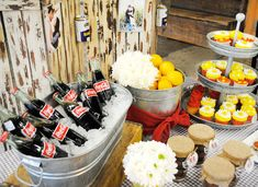 styled crawfish boil party