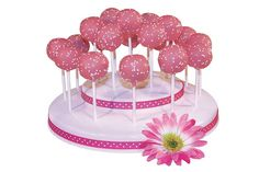 The Popztee Cake Pop Stand and Display