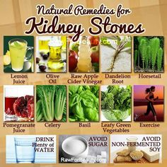 Natural Cures Not Medicine: Natural Cures For Kidney Stones