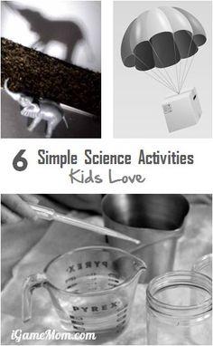 Simple Science Activities Kids Love
