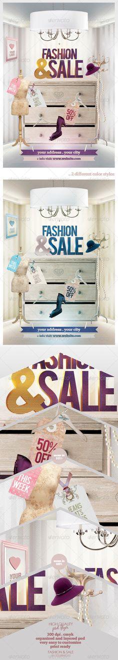 fashion flyer, promo flyer, promot flyer, print templat