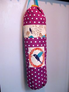 littlesage: Plastic Bag Holder Tutorial
