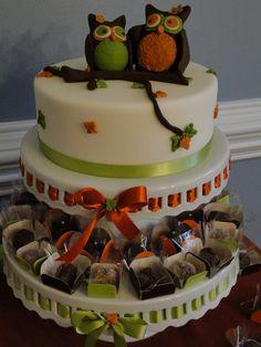Owl Cake #owl #cake