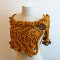 Brand new from Phydeaux Designs:  the Rustico Cowl/Wrap knitting pattern!  Super fun to knit in super chunky yarn, with lace, garter stitch and bobbles.  Perfect for Winter!  Click through the photo for more details.  :)