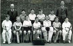 THIS photograph of Rood End Junior School Cricket Team, c.1949, has been sent in by Mr I.J. Boswell of Stoneybridge, near Belbroughton.