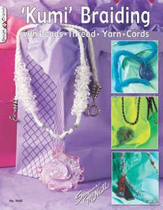 Kumi Braiding with Beads, Yarn, Thread, Cords