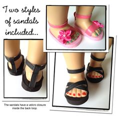 sandals shoe pattern