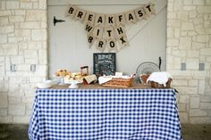 Breakfast-Themed Birthday Party - #ProjectNursery