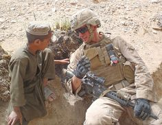 This is a dear friend's son, LCpl Joshua T. Davenport, USMC.  Isn't he amazing??