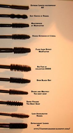 I don't think I ever buy the same mascara twice in a row! Hopefully this helps me pick out what I want