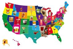 Signature Drinks of each state. From Buzzfeed.