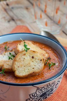 Zupa z pomidorów i dynii