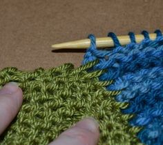 joining strips as you knit