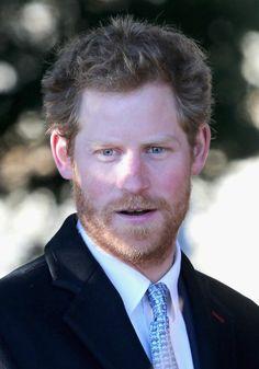 Prince Harry. bearded men