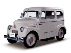 1947 Tama from Japan. An early electric car.