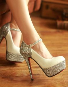 Flash Fine With High Heels, I don't know where I would wear these but I don't care :)