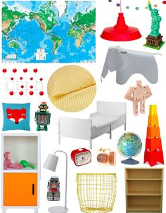 A Lovely Lark: A Happy & Bright Big Boy Room + Some Big News!