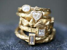 Cathy Waterman rings - LOVE